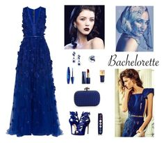 """Contest: Blue Bachelorette Outfit"" by billsacred ❤ liked on Polyvore featuring Elie Saab, Giuseppe Zanotti, Bottega Veneta, Effy Jewelry, Givenchy, Estée Lauder, Maybelline, Yves Saint Laurent and Bachelorette"