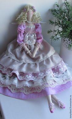 Куклы Тильды ручной работы. Ярмарка Мастеров - ручная работа Кукла в стиле Тильда Кларисса. Handmade.