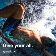 Give your all at the pool today!