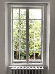 Wooden Window Design, Window Grill Design Modern, Balcony Grill Design, Minimalist Window, Minimalist House Design, Double Casement Windows, Windows And Doors, Door Design Interior, Entrance Design