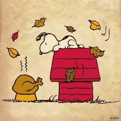 Thanksgiving #Snoopy