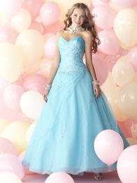 PERFECT cinderella dress!!! i i think thsi one would go good with hair color :)