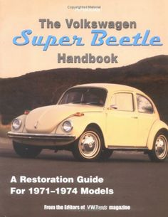 Wish my dad had this book before he passed away...he was restoring a VW exactly like this!