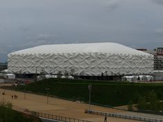 Basketball Arena - London Olympic Park - we were there Saturday 28th July