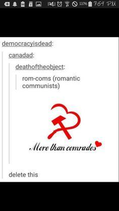 more than comrades HAHA