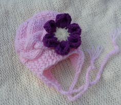 Kids Hat Baby Girl Hat Newborn Hat Photo Prop Baby by IfonBabyLand