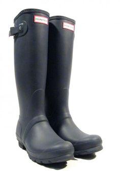 0893662d43 Botas Hunter azules modelo Original tall ▻ Compra online tus botas de agua  con ENVÍO 24