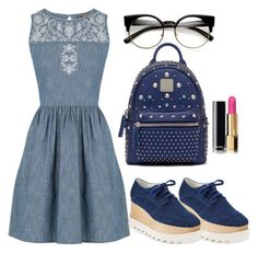 """""""Untitled #33"""" by farahmuneer on Polyvore featuring Oasis, STELLA McCARTNEY and MCM"""