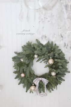 FRENCH COUNTRY COTTAGE: Cottage Christmas