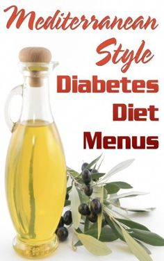 Mediterranean Style Diabetes Diet Menus by Easyhealth Nutrition  Enjoy all the health benefits of the Mediterranean diet while following a diet for diabetes. Download instantly to mobile, pc or tablet.
