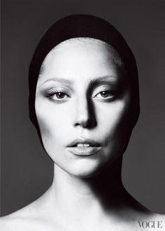 Lady Gaga I think she is beautiful without make-up