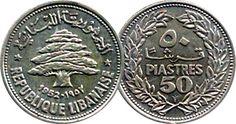 Lebanon Tripoli Lebanon, Phoenician, World Coins, Old Ads, Treasure Island, Rare Coins, Coin Collecting, Asia Travel, Beaches