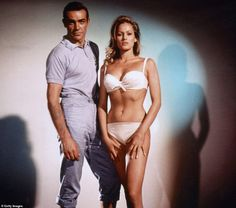 Ursula Andress, Bond Girls, Dean Martin, Marlon Brando, Elvis Presley, Bond Girl Dresses, News Stars, James Bond Movies, All James Bond Actors