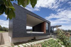 Refugio moderno en Guatapé Tiny House Design, Modern House Design, My Dream Home, Home Projects, Architecture, Building, Outdoor Decor, Home Decor, House Ideas