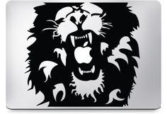 Lion Macbook Decal