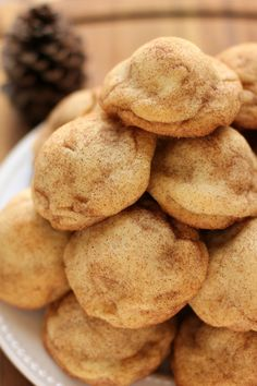 Gingersnap Cheesecake Stuffed Snickerdoodles