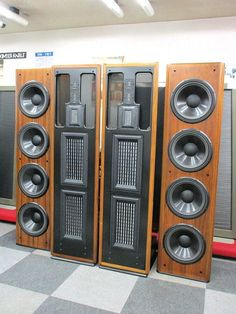 Home Speakers & Subwoofers for sale Open Baffle Speakers, High End Speakers, Horn Speakers, Diy Speakers, High End Audio, Stereo Speakers, Som Retro, Audiophile Turntable, Sound Room
