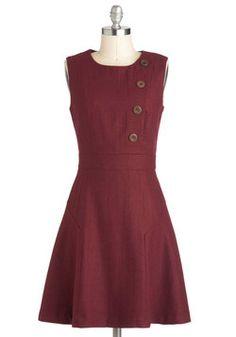 Intelligently Chic Dress, #ModCloth
