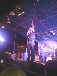 Jack Ingram rocked out in Greenville Texas