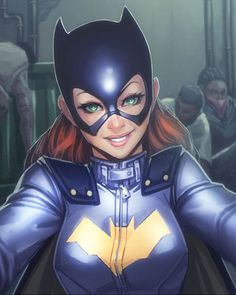 Batgirl Fan Art Inspired by Her New Look
