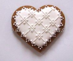 Galletas de boda Corazón