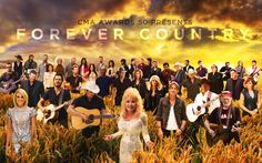 "In celebration of the 50th Annivesary of the CMA Awards, 30 CMA Award-winning acts came together to create ""Forever Country."" Check out the biggest music video in County Music history at http://www.forevercountry50.com/. And be sure to watch Brad Paisley and Carrie Underwood host ""The 50th Annual CMA Awards"" Wednesday, Nov. 2 at 8