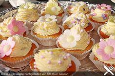 Limonaden-Cupcakes mit Vanilletopping