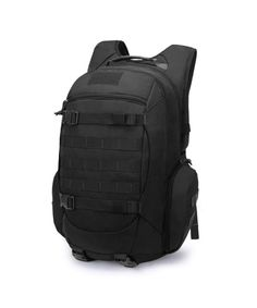 ec2f10da49b5 25L 35L Tactical Backpacks Molle Hiking daypacks Camping Hiking Military  Traveling - Black-2 - C51836DN9ZI