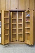Chef's pantry? or just a more basic shallow closet-type pantry? And where is it located in the dream kitchen?