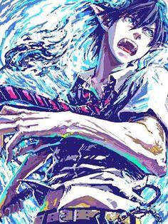 anime, ao no exorcist, and blue exorcist Bild
