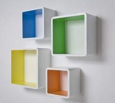 Lounge Cubes Square Colore (4/Set) | TV meubels & kasten | Retro & Design meubels, verlichting & cadeaushop, Space Age new vintage