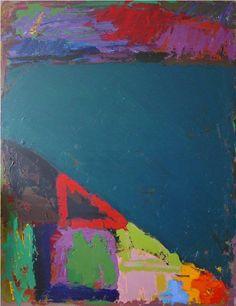 JOHN HOYLAND TRASKO, 1979 acrylic on canvas 78 x 60 inches 198.1 x 152.4 cm