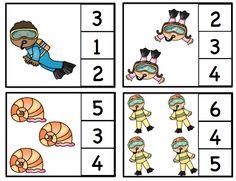 Preschool Printables: Ocean Fun Printable 2