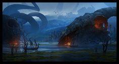 ArtStation - Dragon's Lair, Raphael Lacoste