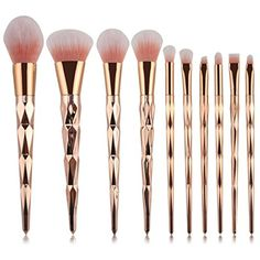 Makeup Brush Set,SMTSMT 2017 10PCS Make Up Foundation Brush *** More info could be found at the image url. (This is an affiliate link and I receive a commission for the sales)