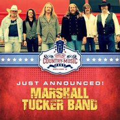 Marshall Tucker Band has been added to the list of great entertainers for the Carolina Country Music Fest June 5-7 (June 4th kickoff) in Myrtle Beach, SC!  You better get your tickets because it is going to be days of great music by the beautiful Atlantic Ocean!  http://www.visitmyrtlebeach.com/things-to-do/events/carolina-country-music-festival/