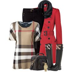 """""""Burberry"""" by melindatg on Polyvore"""