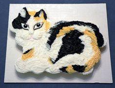 cat cupcake cake