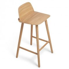 Muuto Oak Nerd Counter Stool