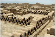 Ruinas de Chan Chan, Perú.