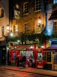Coach & Horses Pub - Covent Garden, London
