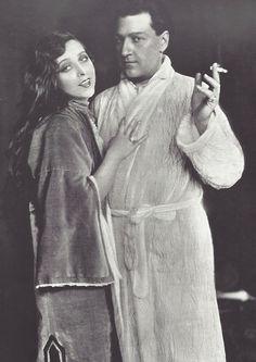 Sacha Guitry et Yvonne Printemps, Londres, 1928
