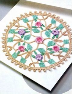#Crochet Mandala - Chart