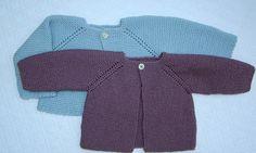 tutorial para hacer jersey de bebé, baby cardigan Knitted Baby Cardigan, Knitted Baby Clothes, Baby Knitting, Crochet Baby, Knit Crochet, Crochet Summer, Nordstrom Baby Girl, Summer Boy, Baby Boy Fashion