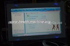 cool 14 pulgadas de la pantalla táctil de Quantum de analizador de la salud con la resonancia magnética