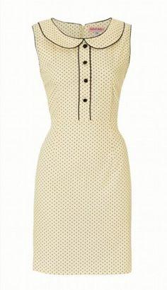 dot dress.