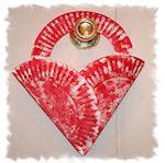 How to Make Heart-Shaped Crafts: Paper Plate Heart Pocket