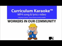 Discounted for National Volunteer Week (May In Our Community' is a professionally produced, curriculum-aligned song that helps students understand and appreciate roles & responsibilities of paid/unpaid commu. Poetry Lessons, Singing Lessons, Singing Tips, Lyrics Website, Songs Website, Community Workers, Community Helpers, Social Studies Communities, Video L