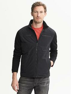 Performance Quilted Hybrid Jacket