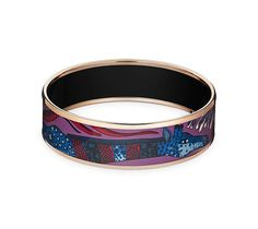 Ardmore design from La March du Zambezi on this beautiful Hermes Enamel bracelet.